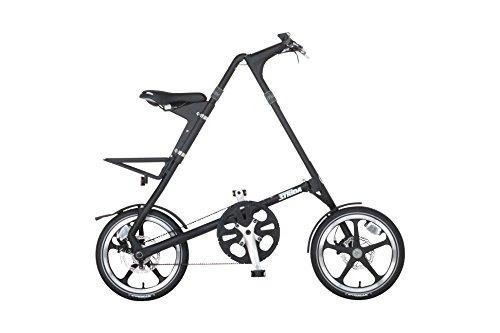 STRIDA(ストライダ) 折りたたみ自転車 16インチ シングルスピード STRIDA LT アルミフレーム MATT BLACK 34963
