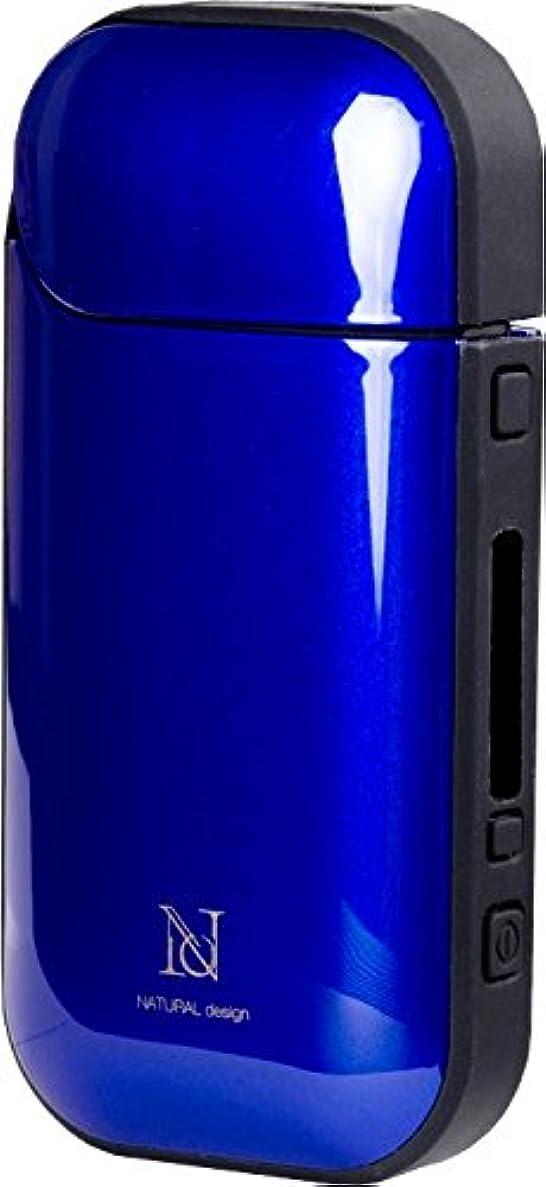 太鼓腹見物人兵士アイコス専用ケース HYBRID BLUE