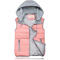 Women Cotton Vest Female Trade Short Paragraph Warm Vest - Pink 3XL