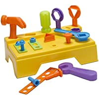 Educational Work Bench and Play Tools by Castle Toy by Castle Toy