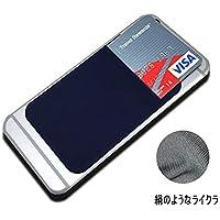 JTLife スマートフォン ポケット 背面 貼り付け 収納 カードケース Suica Pasmo Toica Manaca Icoca ICカード 伸縮 バンド付 落下防止