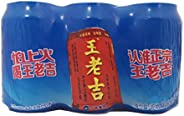 Wang Lao Ji Canned Herbal Tea 310ml (Pack of 6)