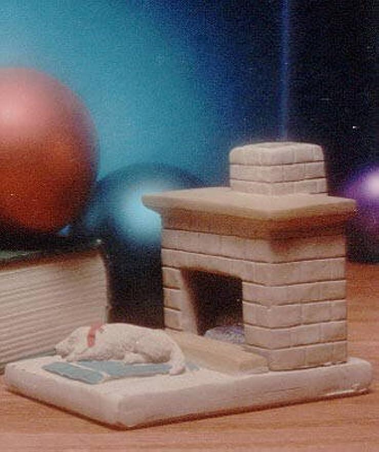 海母音消える国Hearth子犬Burner with松の天然木製お香 – Incienso De Santa Fe
