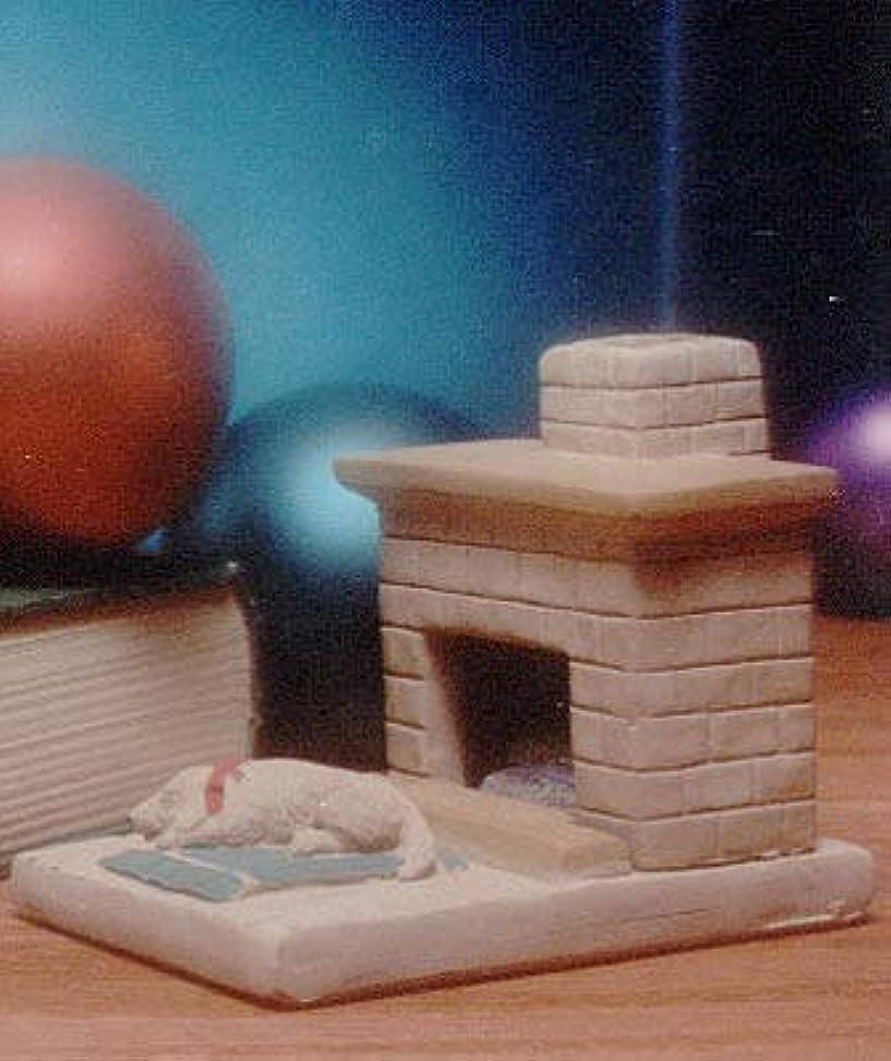 合金最小南東国Hearth子犬Burner with松の天然木製お香 – Incienso De Santa Fe