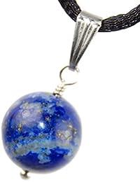 Celestialコレクション – 12 mmラピスラズリムーン球ボールブルーゴールデンの金、20