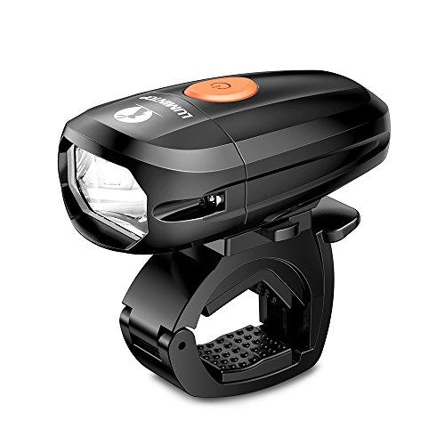 LUMINTOP C01 自転車ライト LEDヘッドライト IP68 完全防水 USB充電式 1400mAh 明るさ5400カンデラ 連続点灯10.5h JIS前照灯適合品 【二年保証】