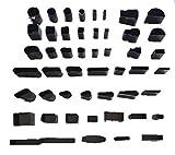 レザー DIY クラフト 工具 抜き 型 パンチ セット スマホ タブレット カバー ハンドメイド 50個 セット