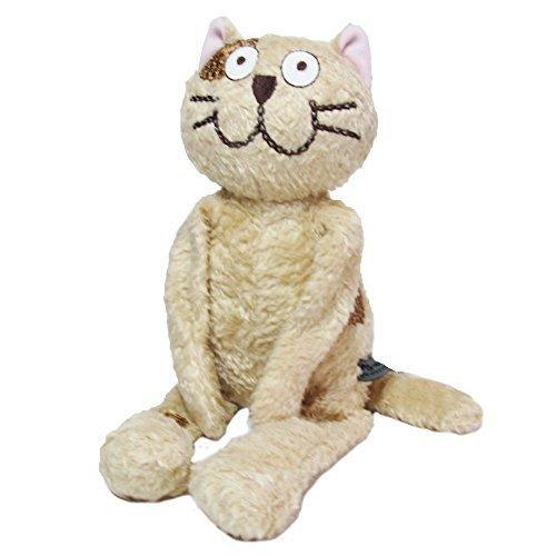 Manhattaner's マンハッタナーズ  ぬいぐるみM くたくた猫 (ブラウン)