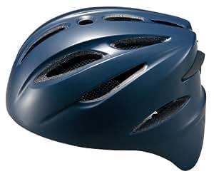 ゼット(ZETT) 軟式捕手用ヘルメット ネイビー M BHL40R