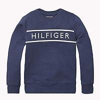 TOMMY HILFIGER Boys' 3D Embroidery Logo Sweatshirt