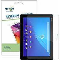 XPERIA Z4 Tablet フィルム 液晶 保護 docomo SO-05G / au SOT31 10.1 インチ タブレット 対応 MY WAY SCREEN SHIELD コーティング スクリーンシート クリア