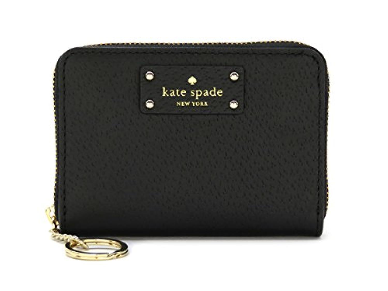 ケイトスペード 財布 コインケース 小銭入れ レディース ダニ WLRU3212 ブラック グローヴ ストレート アウトレット
