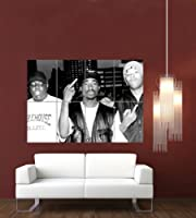 NOTORIOUS BIG 2PAC REDMAN GIANT WALL POSTER G653 by Giant Bean Bag Chairs