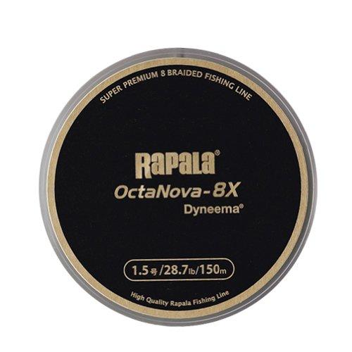 ラパラ(Rapala) オクタノヴァ 8X 8本編み 150m 1.5号 28.7lb ライムグリーン OctaNova-8X 150m R8X150M15LG