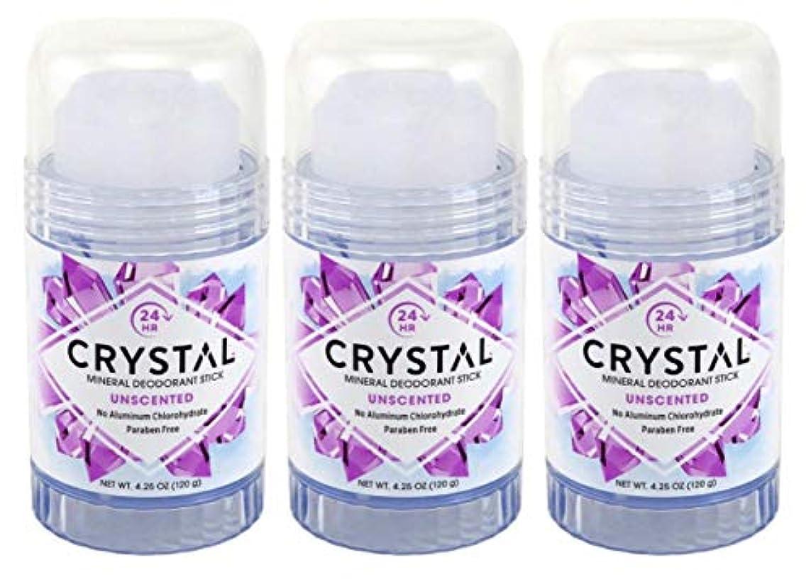 インペリアルの頭の上コウモリCRYSTAL Deodorant スティック4.25Oz(3パック)