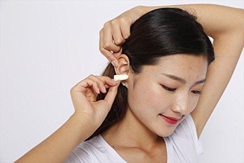 【 Lux Esto 】 イヤーマフ しっかり防音 ヘッドホン 型 イヤープロテクター ( 耳栓 6組 セット ) ( ブラック )