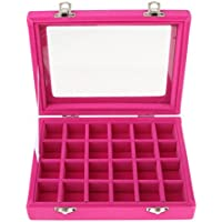 OZ_Mart Jewelry Display Box 24 Slot Art Organizer