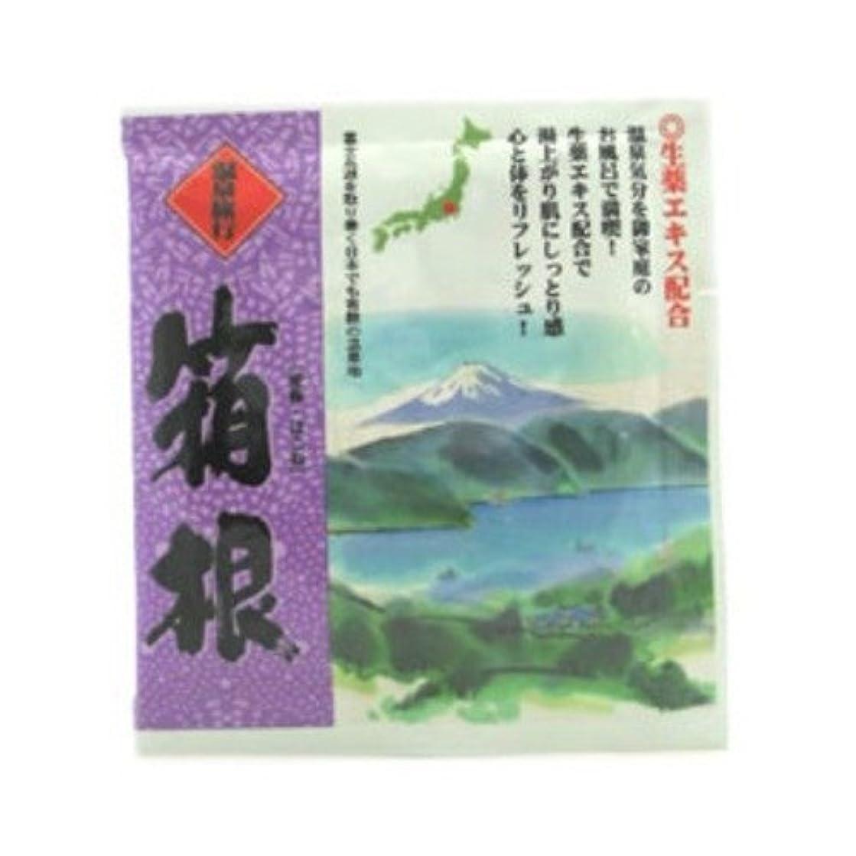 五洲薬品 温泉旅行 箱根 25g 4987332128281