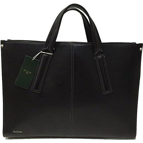 ポールスミス Paul smith オールレザービジネスバッグ 2wayビジネスバッグ ブラック メンズ