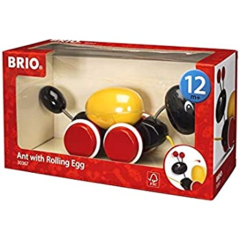 BRIO ローリングエッグとアリさん 30367
