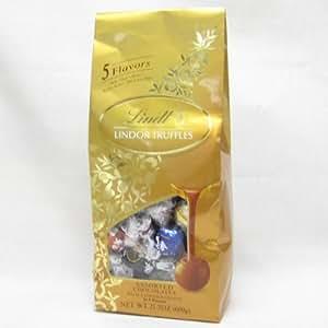 Lindt(リンツ) リンドール トリュフ 5種類アソートチョコレート 600g