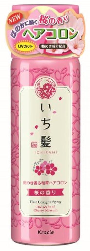 疲労定期的有望いち髪 艶めき香る和草ヘアコロン 桜の香り 80g