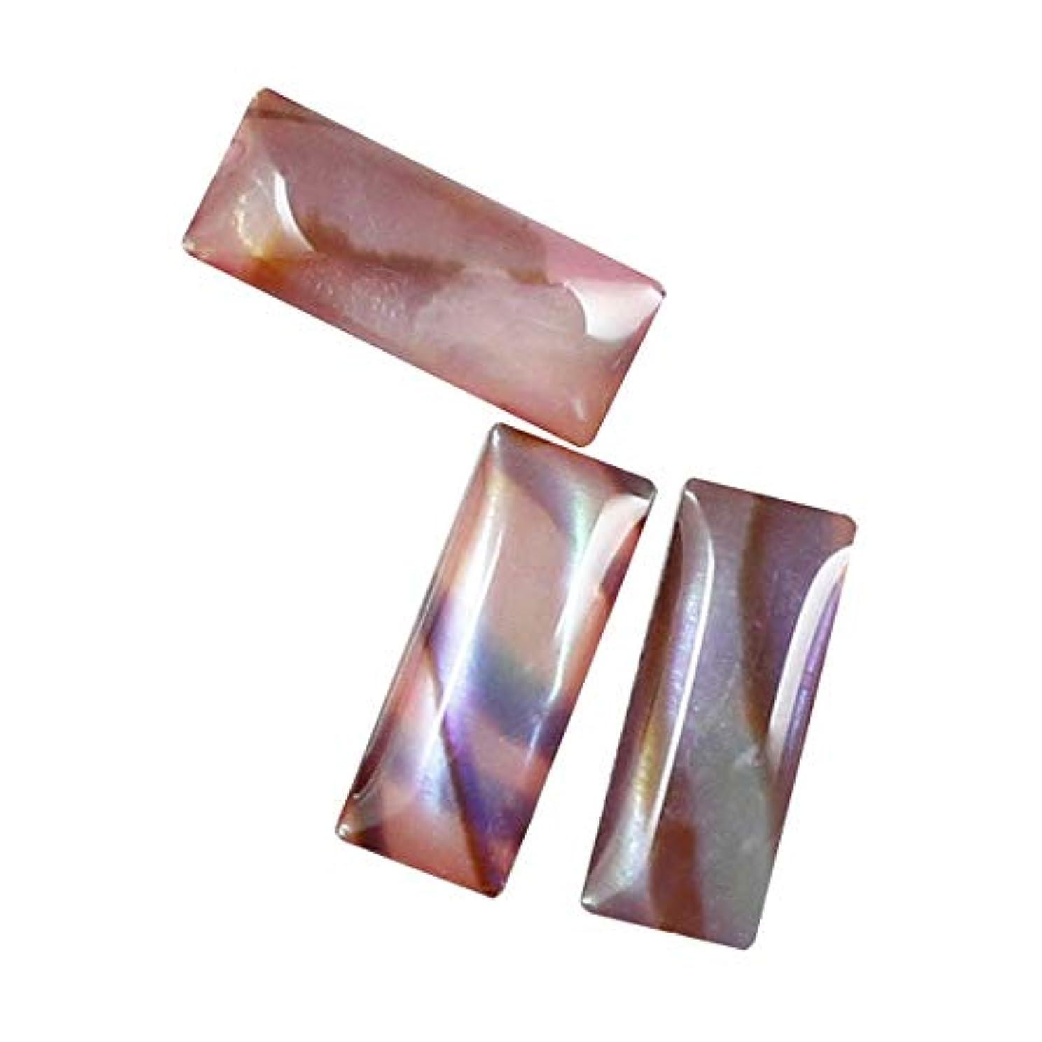 アグネスグレイアトラス揮発性Mpetit B716 シェルストーンレクタンブルピンク