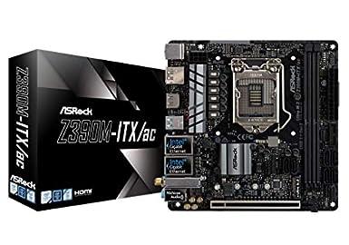 ASRock Intel Z390 チップセット搭載 Mini-ITX マザーボード Z390M-ITX/ac