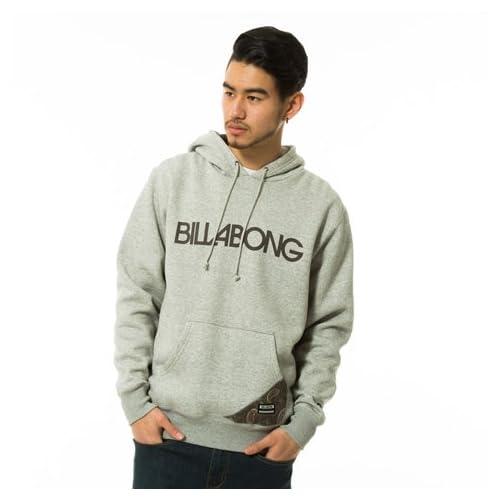 Billabong(ビラボン) メンズ BASIC LOGO PULL OVER PAKA ベーシックロゴパーカー プルオーバー GRH XL