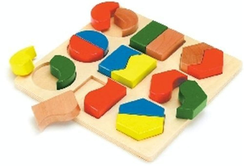 形あわせパズル A (木製玩具)