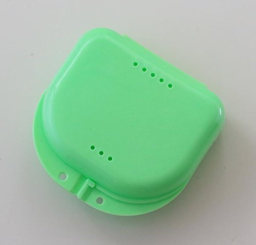 気性専門キャメル通気口付ケース 保管ケース グリーン系