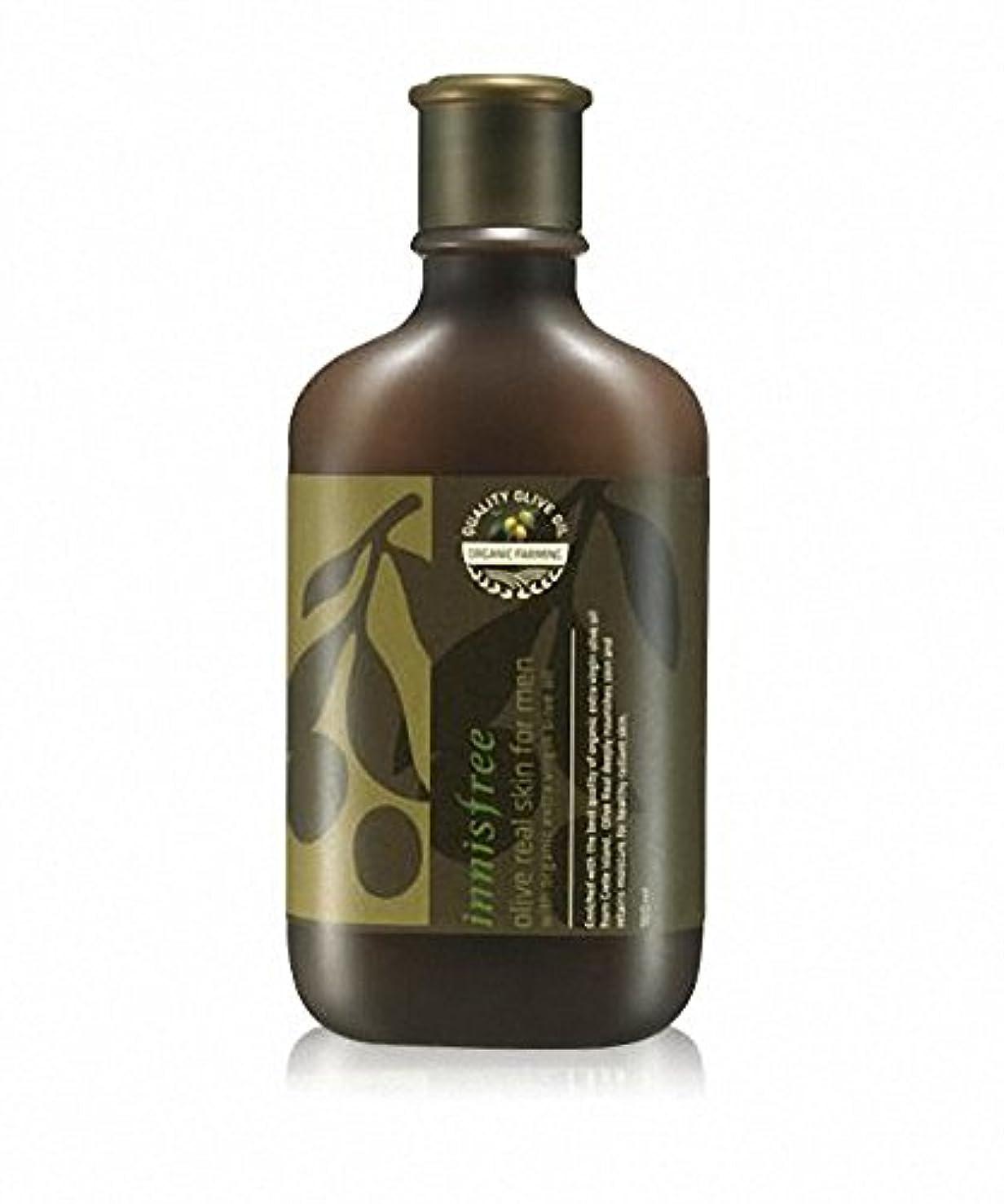 米ドルパーツ生きている[イニスフリー] Innisfree オリーブリアルスキンフォアマン(150ml) Innisfree Olive Real Skin For Men(150ml)  [海外直送品]