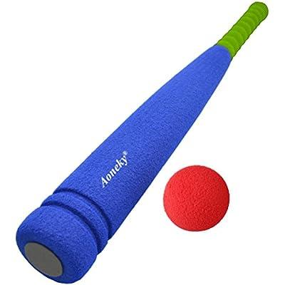 アワンキー(Aoneky)野球バット スポンジ製 安全安心 子供用 おもちゃ
