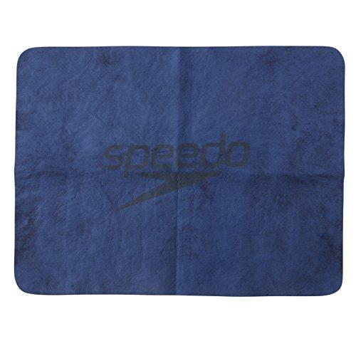 Speedo(スピード) セームタオル スイムタオル 水泳 プール スタック 暑さ対策 小 N(ネイビーブルー) SD98T50