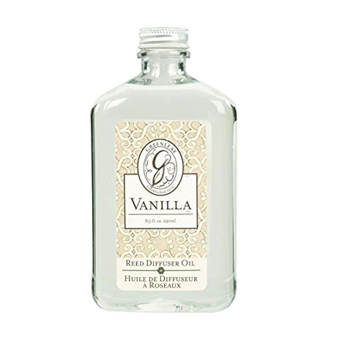 パーツ効能高さGREEN LEAF REED DIFFUSER OIL REFILL VANILLA