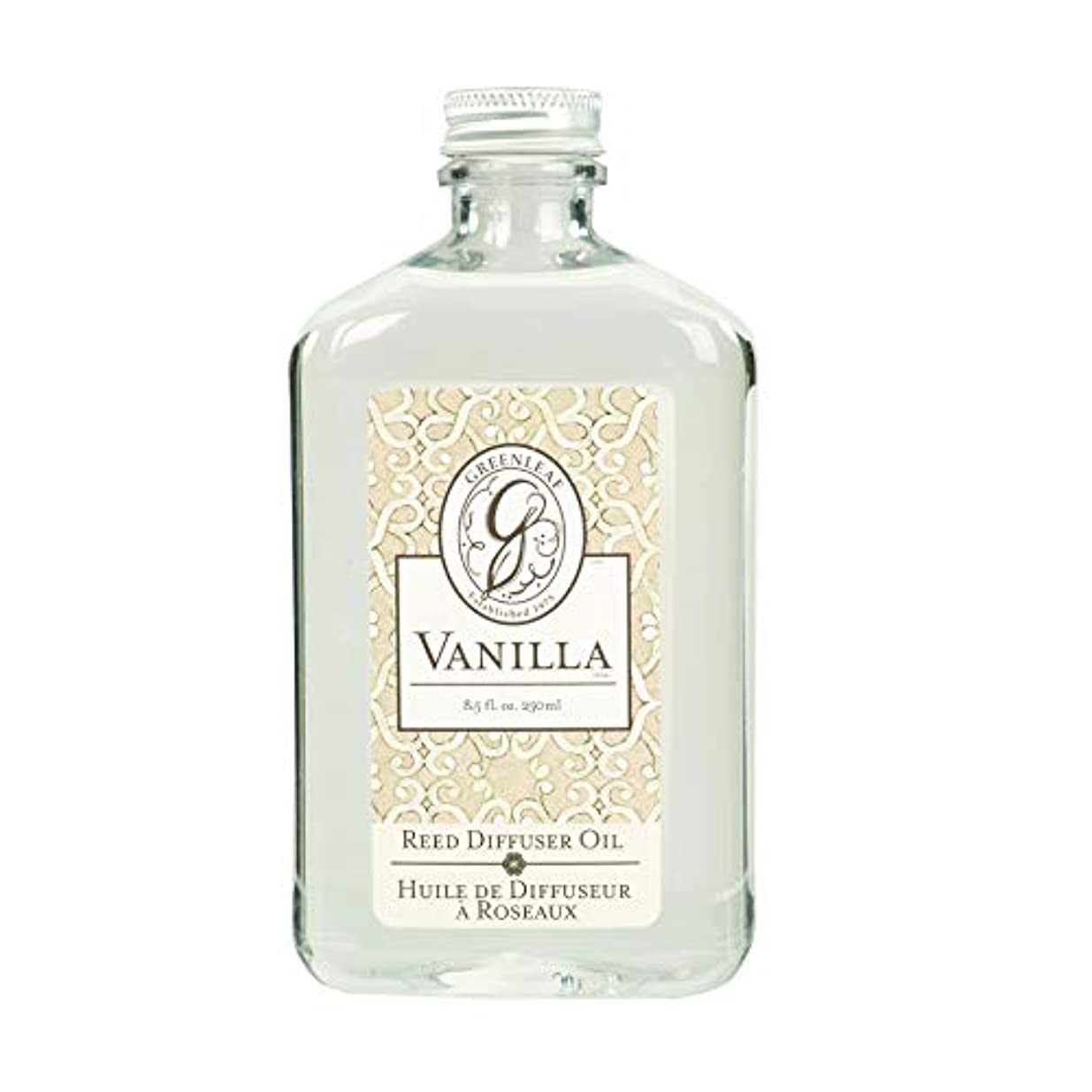 マージン参照オンスGREEN LEAF REED DIFFUSER OIL REFILL VANILLA