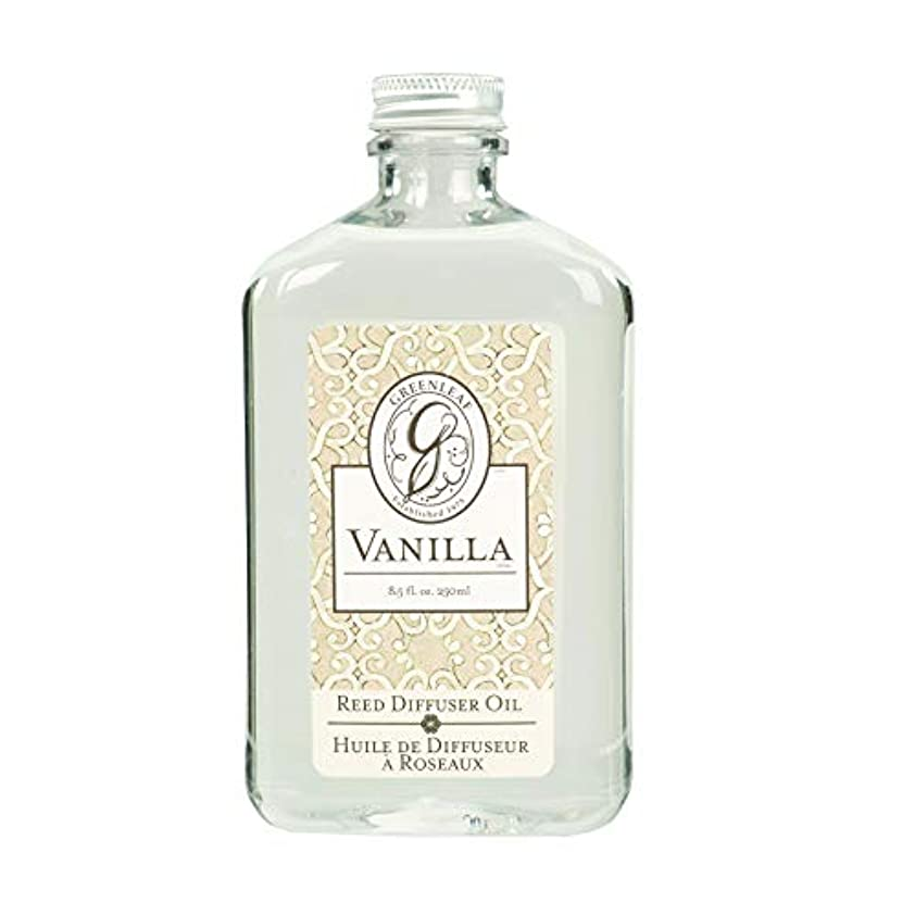 投資実際振るうGREEN LEAF REED DIFFUSER OIL REFILL VANILLA
