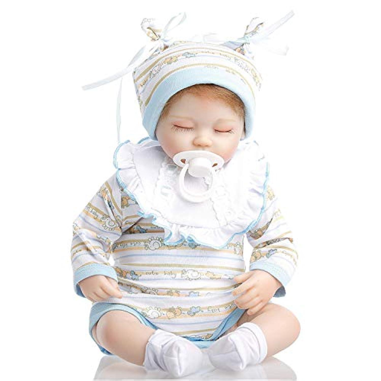 SanyDoll Rebornベビー人形ソフトSilicone 18インチ45 cm磁気Lovely LifelikeかわいいLovely Baby