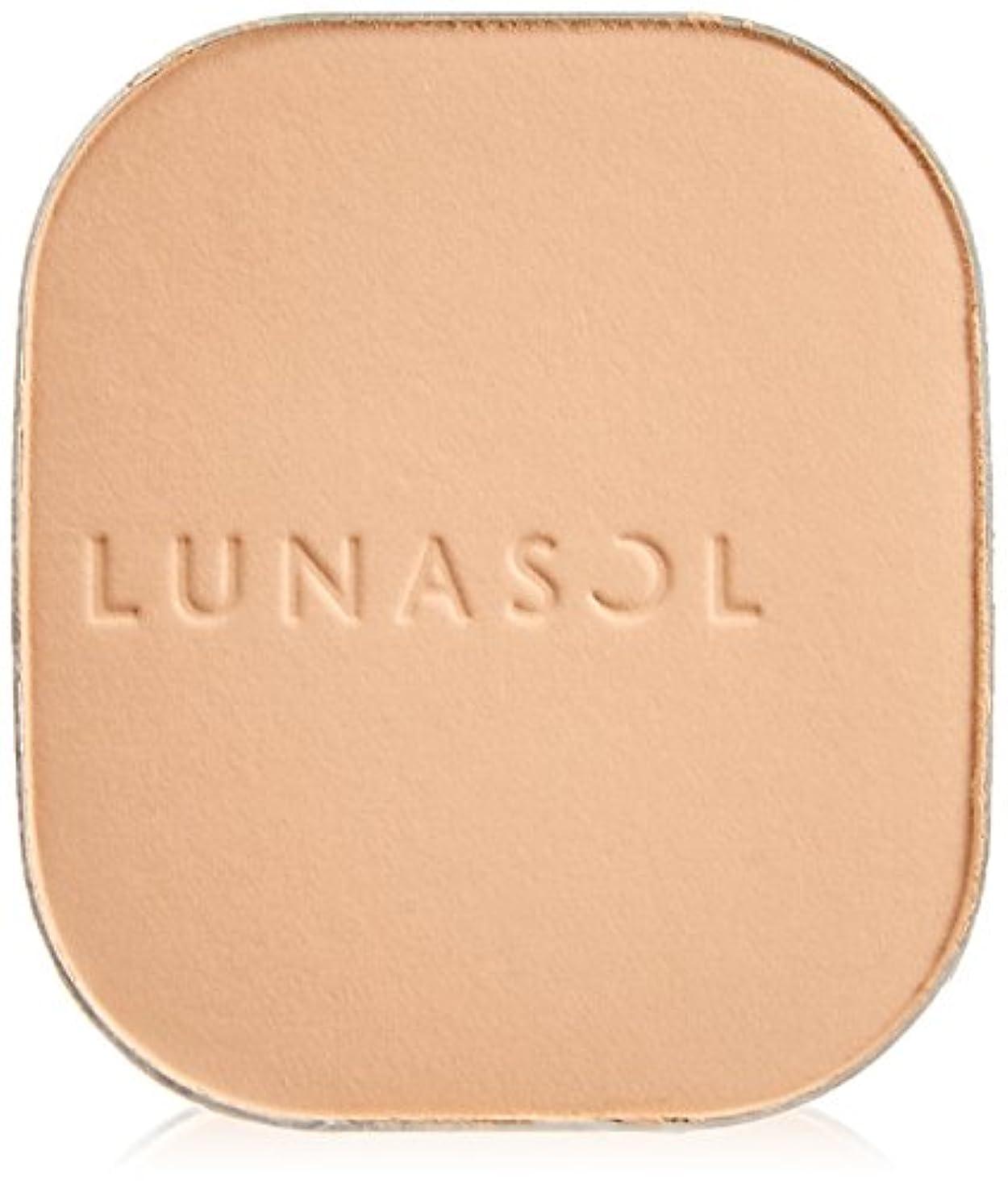 思春期の実験的支援するルナソル(LUNASOL) ルナソル スキンモデリングパウダーグロウ SPF20/PA++ ファンデーション パクト オークル01 単品