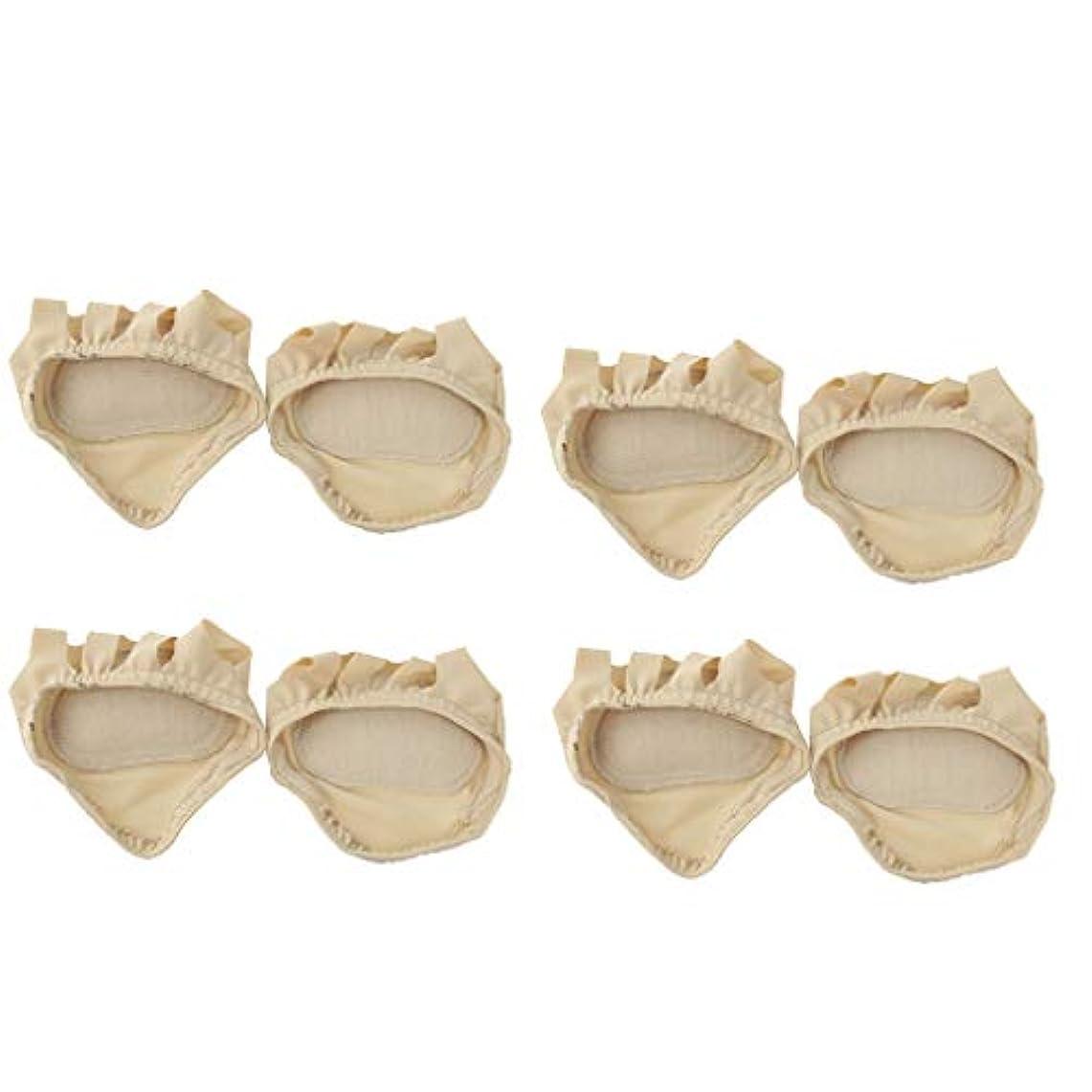 薄汚い地殻ターゲットdailymall 4ペア中足パッドセットジェルフットクッションボールフットクッションパッドfor腱膜瘤フォアフットクッションリリーフ