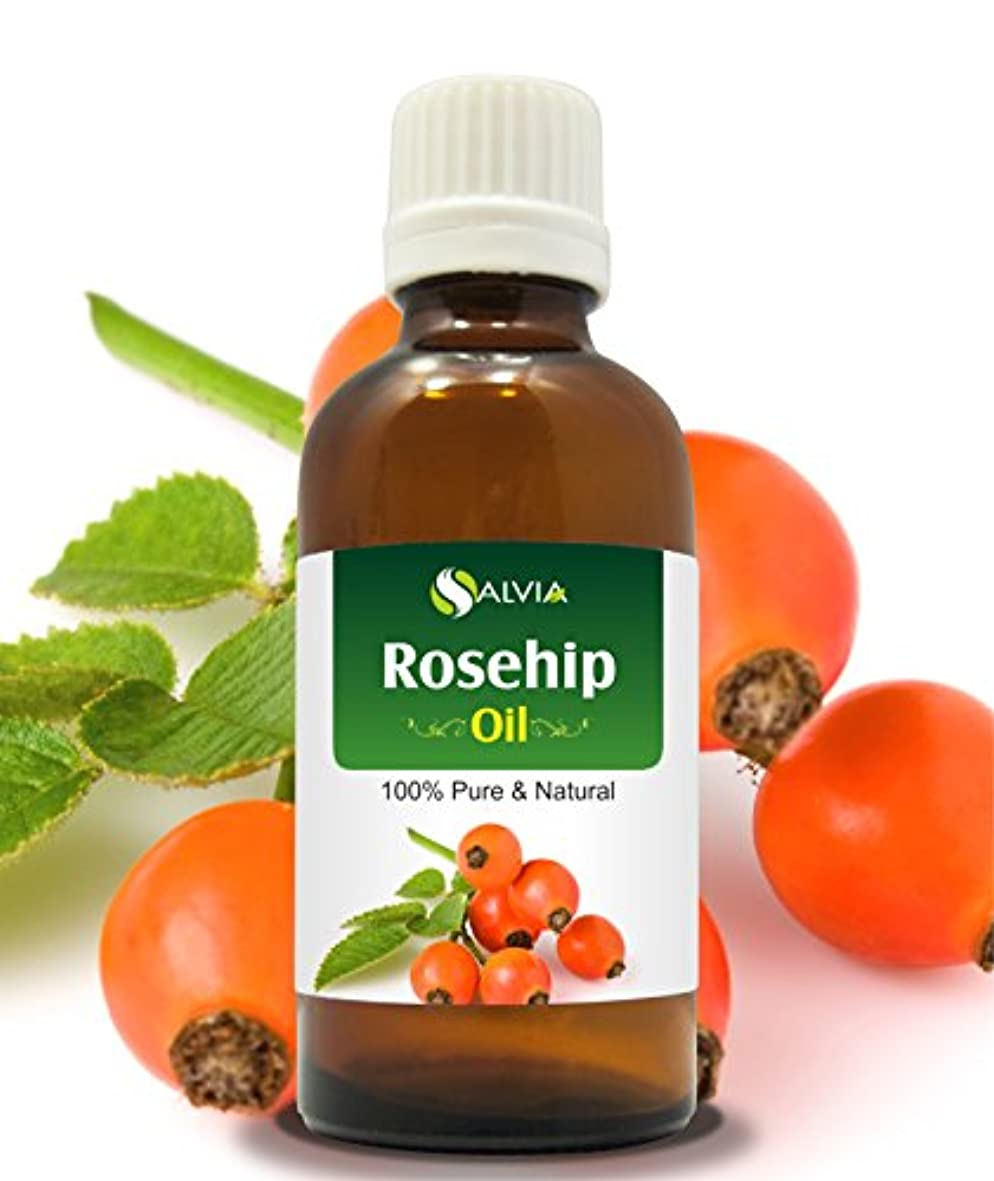 スキーループ推測するROSEHIP OIL 100% NATURAL PURE UNDILUTED UNCUT CARRIER OIL 30ML