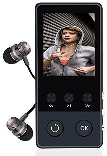 [해외]Newiy Startmp3 플레이어 마이크로 SD 카드 대응 소형 휴대용 FM 라디오 녹음 기능 탑재 음악 플레이어 usb 충전 HiFi 초 고음질 오디오 플레이어 [개량 판] NS-MP3-A58U/Newiy Startmp 3 player Micro SD card compatible mini portable FM radio r...