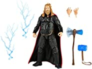 Hasbro Marvel Legends Series 6-inch Scale Action Figure Toy Thor, Infinity Saga character, Premium Design, Fig