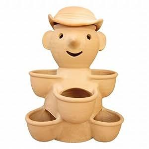 ストロベリーポット いちごポット ドール5カップ テラコッタ 素焼き鉢