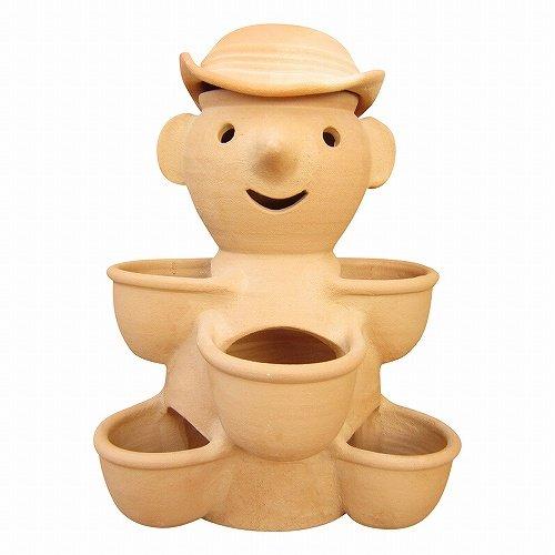RoomClip商品情報 - ストロベリーポット いちごポット ドール5カップ テラコッタ 素焼き鉢