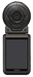 CASIO デジタルカメラ EXILIM EX-FR110HBK 暗闇を撮る 最高感度ISO51200 カメラ部+モニター(コントローラー)部セット EXFR110H ブラック