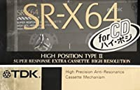 TDK カセットテープ SR-X 64分 ハイパワー ハイポジ SR-X64K
