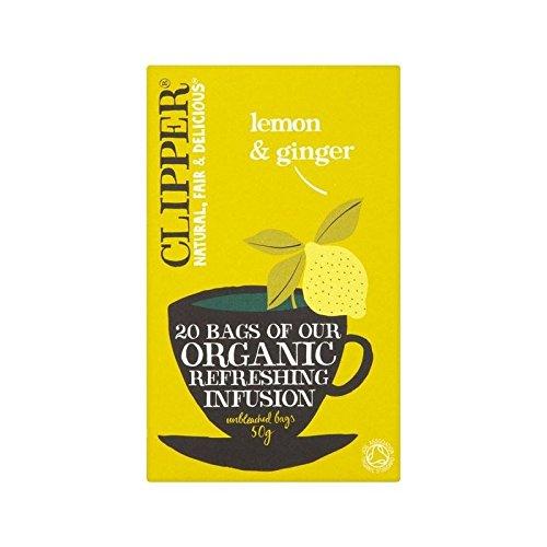 オーガニック レモン&ジンジャーティー 20P