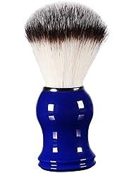 FLAMEER 床屋 サロン 髭剃り シェービングブラシ メンズ 泡立ち 洗顔 理容 約11cm