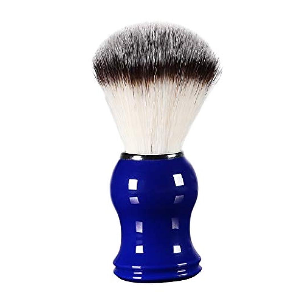 トランスペアレント意気込み天井床屋 サロン 髭剃り シェービングブラシ メンズ 泡立ち 洗顔 理容 約11cm